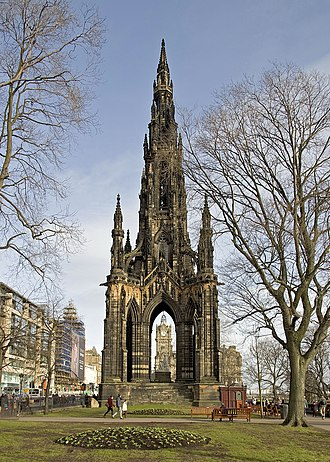 Scott Monument - The Scott Monument