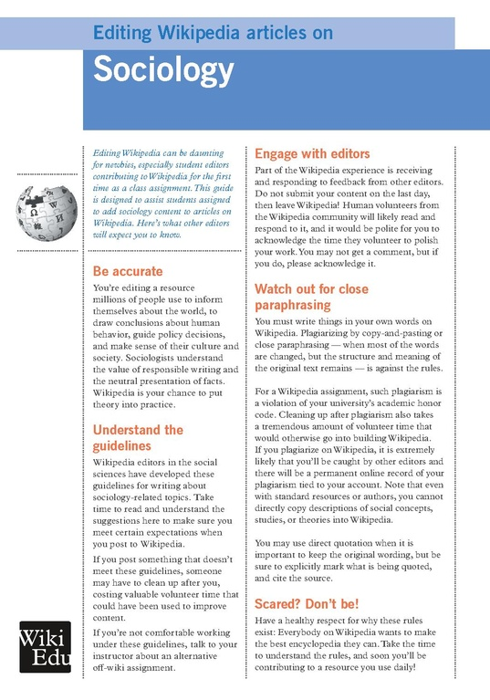 articles about sociology