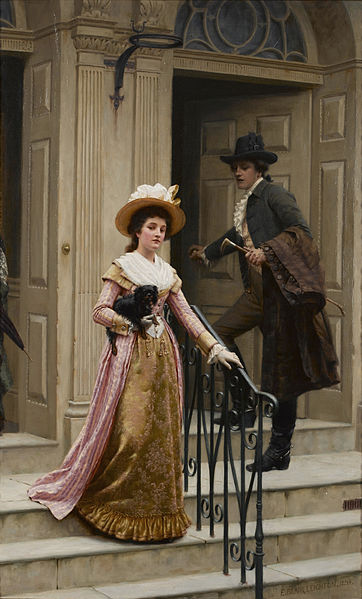 Archivo: Edmund Blair Leighton - My Next-Door Neighbour.jpg
