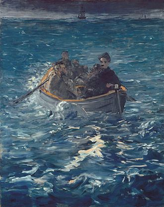 Victor Henri Rochefort, Marquis de Rochefort-Luçay - A painting by Manet, depicting Rochefort's escape