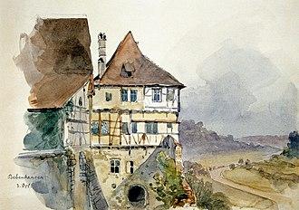 Eduard von Kallee - Image: Eduard von Kallee Kloster Bebenhausen