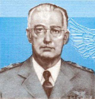 Marshal of the air force - Image: Eduardo Gomes cropped from 1982 Brazil stamp