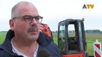 File:Eerste schop in de grond voor glasvezel buitengebied - Altena TV.webm
