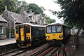 Eggesford - GWR 150244 and 143619.JPG