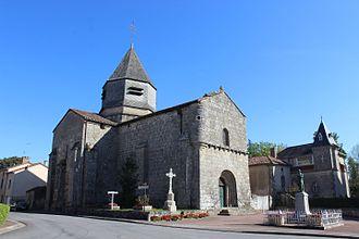 Azat-le-Ris - Saint-Genest church