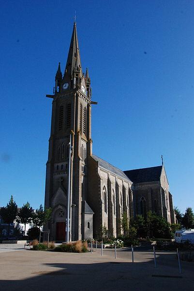Eglise de St-André-des-Eaux (1878)