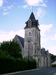 The church in Mézières-lez-Cléry