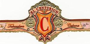 El Centurion Cigar Band Image By R L Hardesty