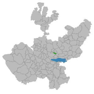 El Salto, Jalisco - Image: El Salto (municipio de Jalisco)
