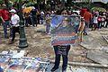 El pueblo venezolano acompañó los restos de su presidente Hugo Chávez Frías en la Academia Militar (8539064854).jpg