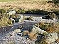 Elenydd stream joining the Afon Tywi, north of Llyn Brianne - geograph.org.uk - 1040475.jpg