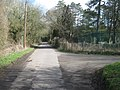 Elham Valley Way on Covet Lane - geograph.org.uk - 1777888.jpg