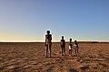 Elia Fester, Kalahari Khomani San Bushman, Boesmansrus camp, Northern Cape, South Africa (20350046720).jpg