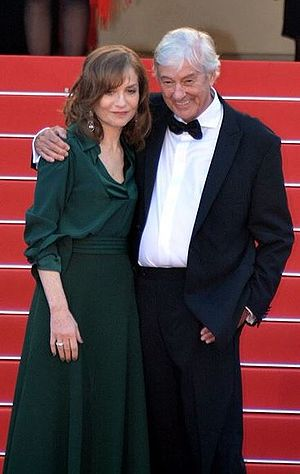 Elle (film) - Huppert and Verhoeven promoting the film at the 2016 Cannes Film Festival