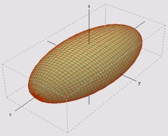 ellipsoide definition