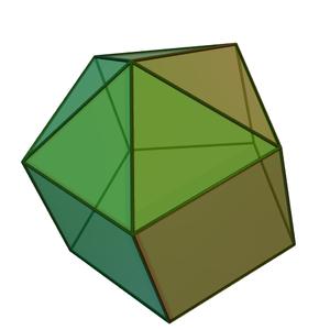 Elongated pentagonal pyramid - Image: Elongated pentagonal pyramid