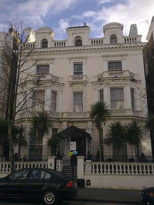 Embassy of Algeria, London - Image: Embassy of Algeria in London