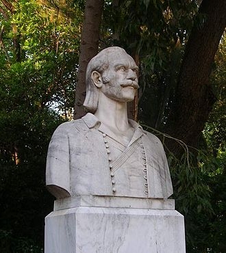 Emmanouel Pappas - Statue of Emmanouel Pappas in Athens.