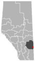 Empress, Alberta Location.png