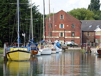 Emsworth - The Old Flour Mill