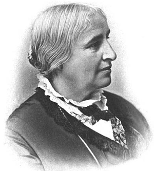 New England Women's Club - Portrait of Ednah Cheney, one of the club's founders