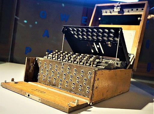Enigma Machine - Spy Museum Berlin