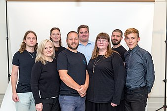 Entire staff of Wikimedia Sweden 5.jpg