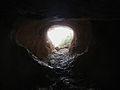 Entrada a la cova del Moro des de l'interior, la Vall de Gallinera.JPG