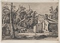 Entrance to the Forest of Brie with Cottage on the Right MET DP874587.jpg