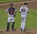 Eric Fryer, Trevor May (14891883820).jpg