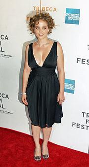 Christensen at the Tribeca Film Festival