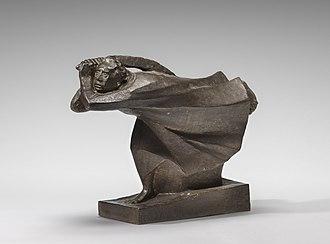 Ernst Barlach - The Avenger, 1914, National Gallery of Art