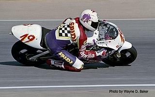 Eskil Suter Spanish motorcycle racer
