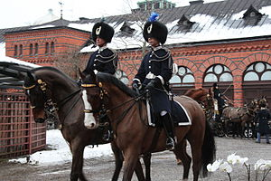 Royal Stables (Sweden) - Scene at the Royal Stables in Stockholm