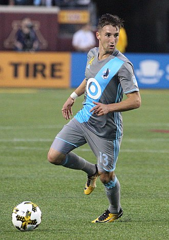 Ethan Finlay - Ethan Finlay playing for Minnesota United FC in 2017