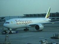 ET-ANN - B77L - Ethiopian Airlines