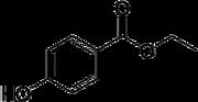 Struktur von 4-Hydroxybenzoesäureester