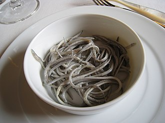Juvenile fish - Elvers
