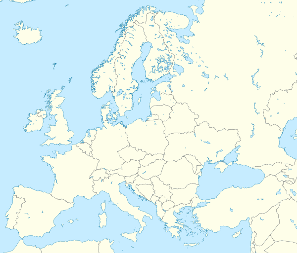 2010–11 UEFA Champions League is located in Europe