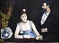 Eva Gonzalès (1849-1883) Een loge in het Théâtre des Italiens (1874) Musée d'Orsay 22-8-2017 17-29-43.JPG