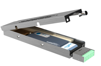 Thermal profiling - Compact datalogger used for the capture of thermal profiles from a reflow oven