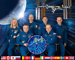 Expedition 37 - Image: Expedition 37 crew portrait
