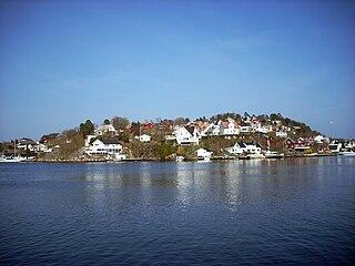 Eydehavn Village in Southern Norway, Norway