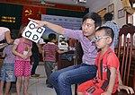 Eye screening for kindergarten children in Quoc Oai district of Hanoi (14310273944).jpg