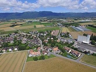 Eysins - Eysins, aerial view