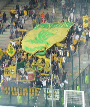 FC Nantes - Supporters at an away match