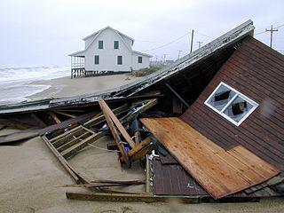 Hurricane recovery in North Carolina Dealing with effects of hurricanes in North Carolina