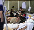 FEMA - 37975 - DHHS Secretary Levitt in a temporary hospital in Louisiana.jpg