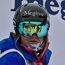 FIS Moguls World Cup 2015 Finals - Megève - 20150315 - Camille Cabrol 5.jpg