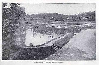 Neosho National Fish Hatchery - Neosho Hatchery in 1896